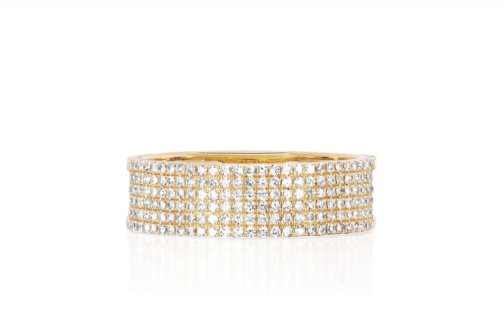 EF-60344-YG-DiamondCigar-Band-Ring